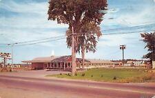 Brewer Maine~Plaza Motel~1962 Postcard