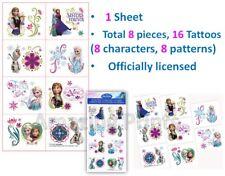 Frozen Disney Tattoos Birthday Party Favor