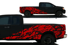 Fits Nissan Titan 2004-2013 Custom Truck Parts Vinyl Decal NIGHTMARE - Dark Red