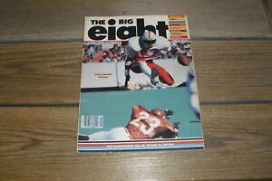 Vintage 1980 The Big 8 Magazine Volume 9 Number 1 Tom Osborne Redwine Plus+++