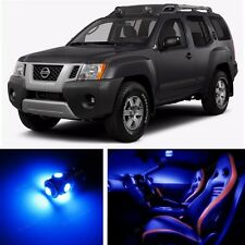 11pcs LED Blue Light Interior Package Kit for Nissan Xterra 2005-2014