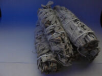 Wholesale Bulk White Sage Smudge Stick Choose: 1 2 3 5 10 15 20 25 50 Cleansing