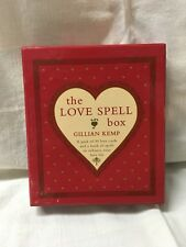 NEW The Love Spell Box 30 Love Cards & Book Of Spells Gillian Kemp Sealed