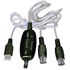 Bespeco BMUSB100 Cavo USB MIDI per Tastiera/PC