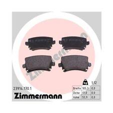 Bremsbelagsatz, Scheibenbremse ZIMMERMANN 23914.170.1 für AUDI VW VAG VW (FAW)