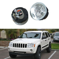 For Jeep Grand Cherokee 2004 Auto Front Circle Fog Light Housing (No Bulbs) 2PCS