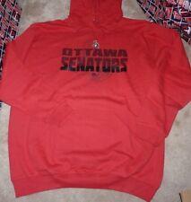 NEW NHL Ottawa Senators BIG & TALL Hoodie Hooded Sweatshirt 3XLT Men NEW NWT