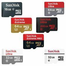 SanDisk 2/4/8/16/32/64/128GB Extreme Memory Card Ultra MicroSD SDHC SDXC Genuine
