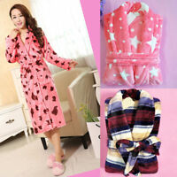 Men robes Women sleepwear Coral Velvet Flannel Bathrobe spa Warm Pajamas housing