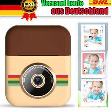 Sofortbildkameras Print Kamera Kinder Instant Thermal 1080P mit 3x Thermopapier