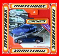 MATCHBOX 2020    2015 JAGUAR F-TYPE COUPE    52/100   NEU&OVP
