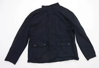 Lee Cooper Mens Size 2XL Cotton Black Jacket