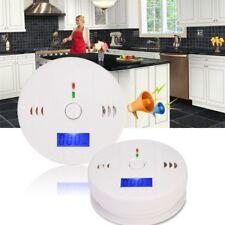 LCD CO Carbon Monoxide Detector Poisoning Gas Sensor Warning Alarm Home Security