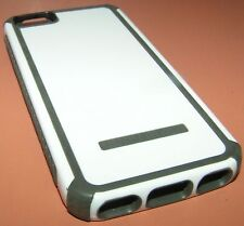 Body Glove Tactic hybrid case for Apple iPhone 5/5s, High Gloss White & Gray