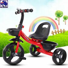 3 Wheel Bike Bicycle Tricycle Trike Baby Kids Children Toddler Ride Toy BTR0050