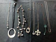 Mixed Job Lot Costume Jewellery Necklaces