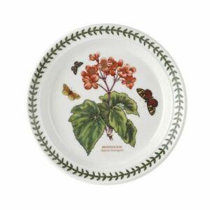 Portmeirion Botanic Garden - Entree Plate Begonia 21.5cm (Made in England)
