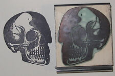 Anatomical Skull rubber stamp Amazing Arts