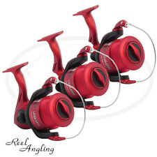 3x Sea Fishing Reels Lineaeffe Oceanmaster 70 Front Drag Beach Pier Sea Angling