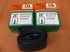 "2 [TWO] Fat Tire Bike  Inner TubeS 26"" x 4.0 DURO BRAND Fatbike Schrader 26x4"""