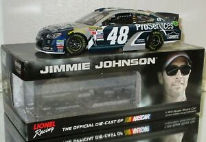 2015 Jimmie Johnson #48 Lowe'sProServices COLOR CHROME 1/24 car#31/72 RARE WOW