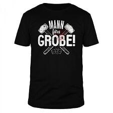 Mann fürs Grobe Handwerker Heimwerker Werkzeug Hobby Geschenk Fun Organic Shirt