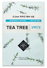 Etude House 0.2 Therapy Air Sheet # Tea Tree Mask Sheet, Refreshing & Soothing