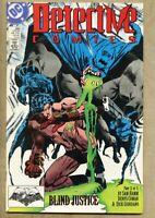 Detective Comics #599-1989 nm- 9.2 DC Comics Batman Denys Cowan Blind Justice
