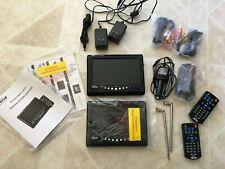 "Portable Digital Prism Lcd Tv original box, 7"" screen, Free flawed Second Tv"