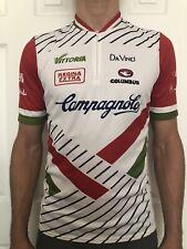 Vintage Campagnolo Vittoria Columbus Modolo Cinelli Cycling Race Jersey Designer