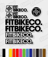cycling, mtb, bmx, bike, frame - V3 Die-cut Decal Sticker sheet FITBIKE Co