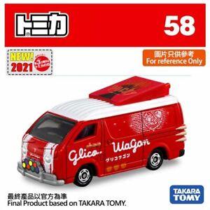 Tomica No 58 Glico Wagon