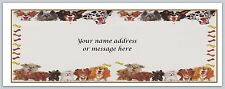 30 Personalized Return Address Labels Dogs Buy 3 get 1 free (bo 667)