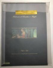 2017 Folder Natale Madonna col Bambino e Angeli Filippino Lippi con Litografia