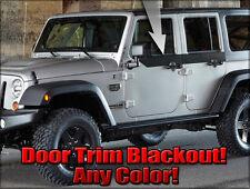 2007 2008 2009 2010 2011 2012 2013 Jeep Wrangler Decal Graphic Door Blackouts