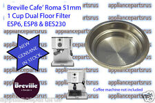 Breville Coffee Machine 1 Cup Filter ESP6 ESP8 BES230 Part ESP8C/132 IN STOCK