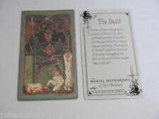 Mortal Instruments City of Bones Trading Tarot Card Single The Devil WC NEW