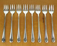 8 x Seafood Cocktail Forks Birks Regency Plate York silverplate silver