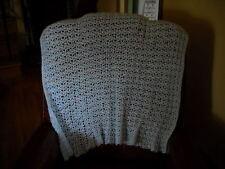 Hand Crocheted Baby Blanket Afghan Throw HI-44