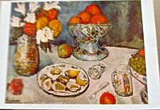Pablo Picasso Still Life Offset Lithograph Unsigned Poster 16x11