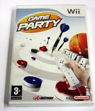 JEU Nintendo WII game party  neuf