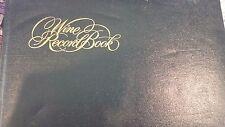wine tasting record book vintage viniana 1972 Harry Waugh