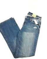 Jeans Denim Pants Womens Stretch Blue New Boot Cut Aeropostale Chelsea Size 9/10