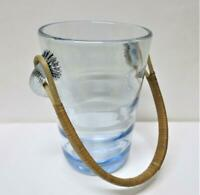 Danish Retro 60's Holmegaard BLUE Glass ICE BUCKET 220806 Jacob E. Bang Denmark