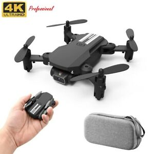 Mini Drone 4K 1080P HD Foldable Quadcopter RC Dron Camera WiFi Fpv Air Pressure