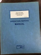 Heathkit SO-4205 original manual