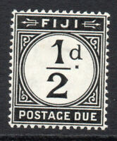 Fiji  1/2d Postage Due Stamp c1918 Mounted Mint (3081)