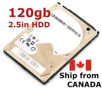 "120gb 2.5"" SATA Laptop hard disk drive ~ mixed brand ~ TESTED 100% health HDD"