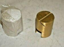 More details for craster flow label cylinder label holder lot of 10 rrp £120 brushed brass (b7r2)
