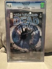 The Walking Dead  #9 cgc 9.6 White pages